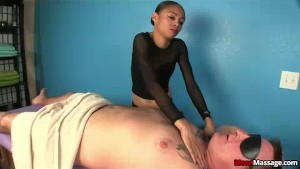 Naughty Teen Masseuse Hates Clients Asking For More