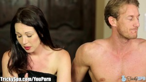 Curvy MILF RayVeness Tricked into Fucking Masseur