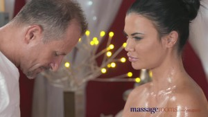 Massage Rooms Big fake tits beauty has multiple orgasms from a pro