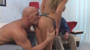 Dirty Minded Blonde Gets Stuffed