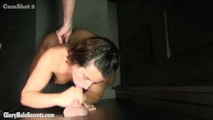 Gloryhole Secrets young cutie in GH for first time