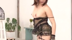 Kyoka Mizusawa blows like an angel before fucking