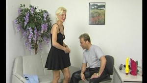 Blonde MILF mistress gets naughty - Julia Reaves