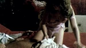 1970s Vintage Girl Enjoys Dildo and Big Cock