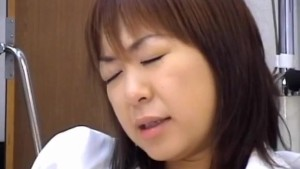 Chiharu Okuna is fingered and screwed by guy