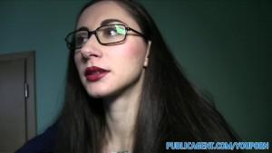 PublicAgent Cum dribble for Russian journalist