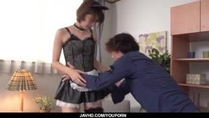 Seira Matsuoka, Japan maid, fucked in rough ways
