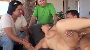 Chubby Wife Tries Anal Sex From a Stranger