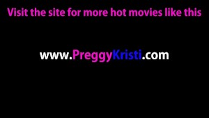 Pregnant lesbian sex with toys