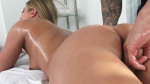 Naked Massage Turns Into Fingering and Fucking!