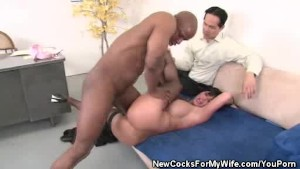 Shay Fox Pleasured By His Black Stud