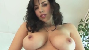 Busty babe Jelena Jensen gets off with Big Toy!
