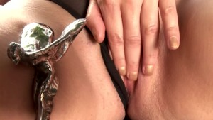 Hot brunette babe masturbating - DDF Productions
