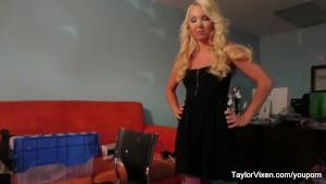 Taylor Vixen behind the scenes
