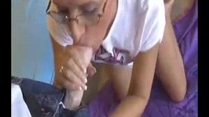 Milf Doesnt Believe Those Huge Stains On His Bed Are Cum