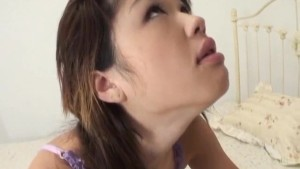 Warin Umino naughty Asian hottie gets exposed pussy banged hard