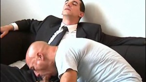 Full video: An innocent str8 vendor serviced his big cock by a guy!