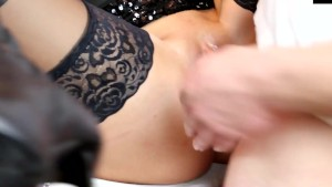 naughty-hotties.net - sweet blonde sloppy seconds vaginal anal quickie huge facial.mp4
