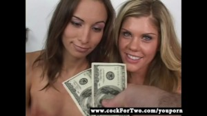 Cock For Two - Amber Rayne vs Bella Lynn