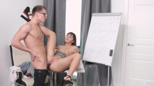 Porn18 - Teacher fucks his student
