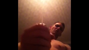 POV cum shot from a hot guy with a big dick