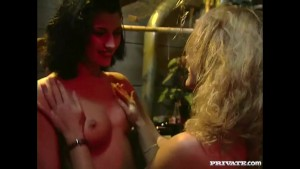 Three Whores Assfucked by the Waiter