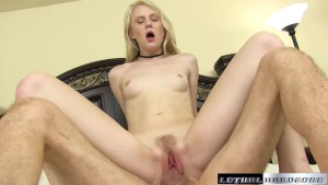 Teen Lily Radar gets spanked and fucked hard