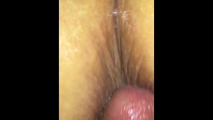 wife high on Percocet wants my little dick in her ass