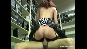Andrea Assfucked in the voyeur s Private Room