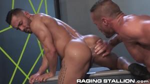 Raging Stallion Hungs Studs go Hard and Deep