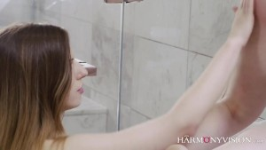 Stella Cox with Ash Hollywood in the shower
