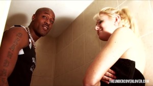 Catching a cute stranger in the shower