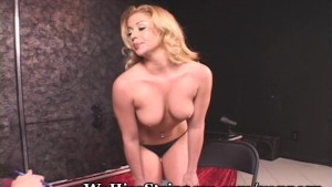 Strawberry Blonde Teen Shows Boss A Great Time