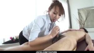 Sexy at the office along big tits, Anna Mizukawa