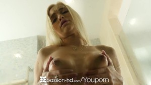 Passion-HD - Lean blonde beauty Alex Grey fucked after shower