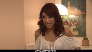 Aya Sakuraba, amateur wife, endures two massive cocks