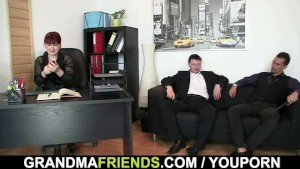 Office mature riding cock after cock sucking