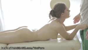 FantasyMassage Russian gets Sensual Anal