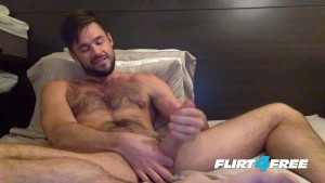 Mike De Marko Jerks His Huge Porn Cock