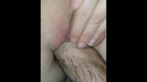 I m fisting in pussy of my wife