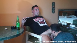 Servicing a hung French dude