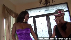 RealBlackExposed - Aryana Starr Twerks On Her Man s Thick Cock