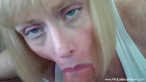 Son Convinces Mom To Creampie