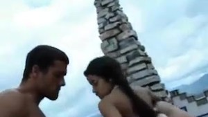 FUCKED On The Rooftop