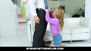 MyBabySittersClub - Adorable Babysitter Lily Ford Fucks Hot Boss
