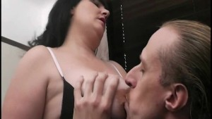 Fatty is picked up and cunt drilled