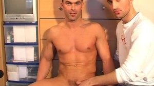 Paul, innocent str8 guy serviced his cock by a guy in spite of him!