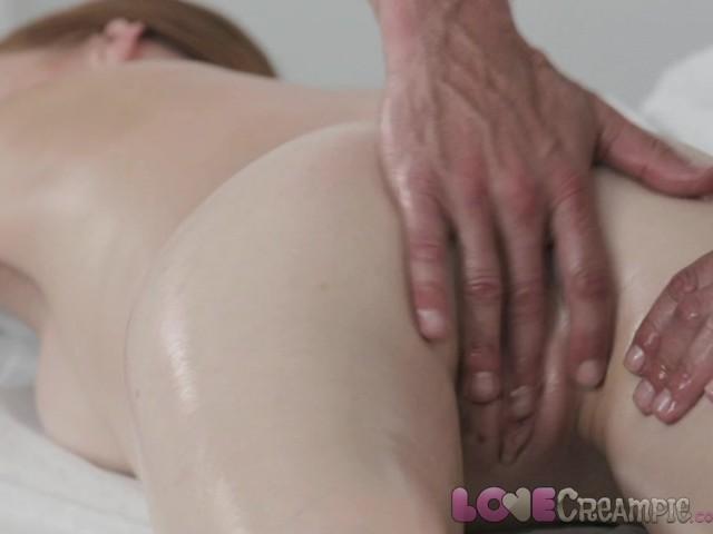 free redhead creampie video
