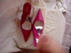 Picture Wife Heels Cumshot