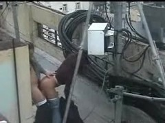 Picture Bulgarian Couple Fucking on the rooftop